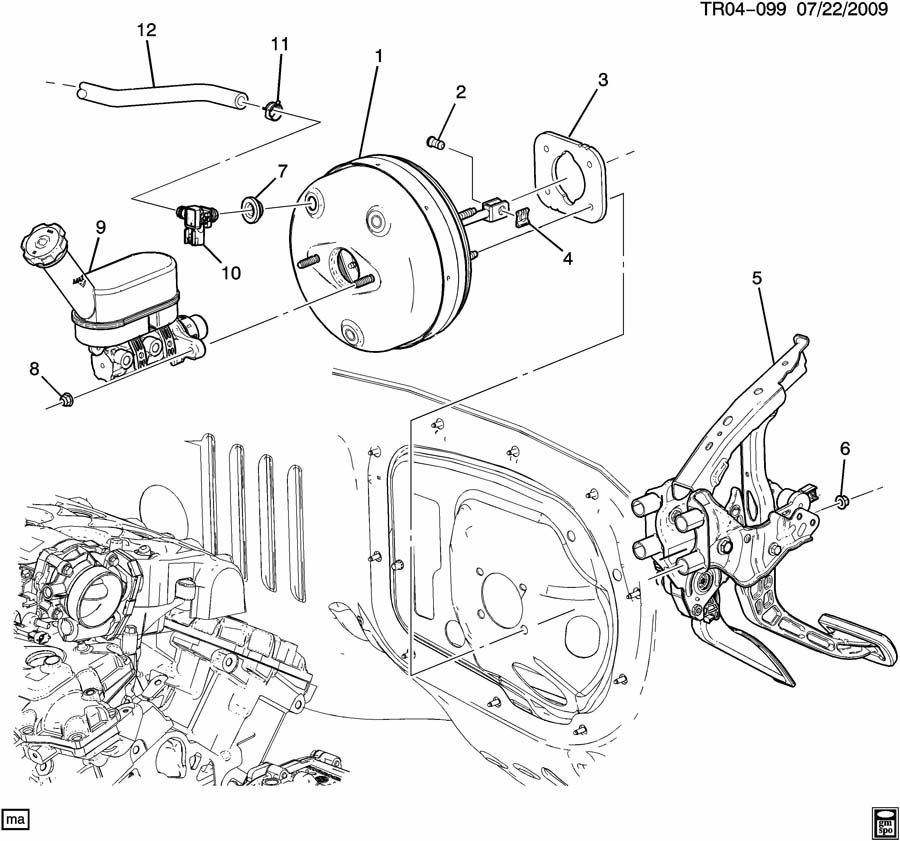 Land Rover Engine Diagram further Power Steering Pump together with ShowAssembly in addition Chevrolet Traverse 2011 Brake Kit together with  on saturn outlook engine overview