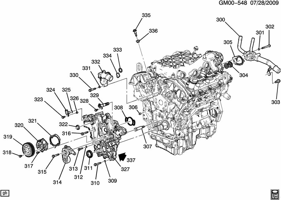 Gmc Acadia Engine Asm