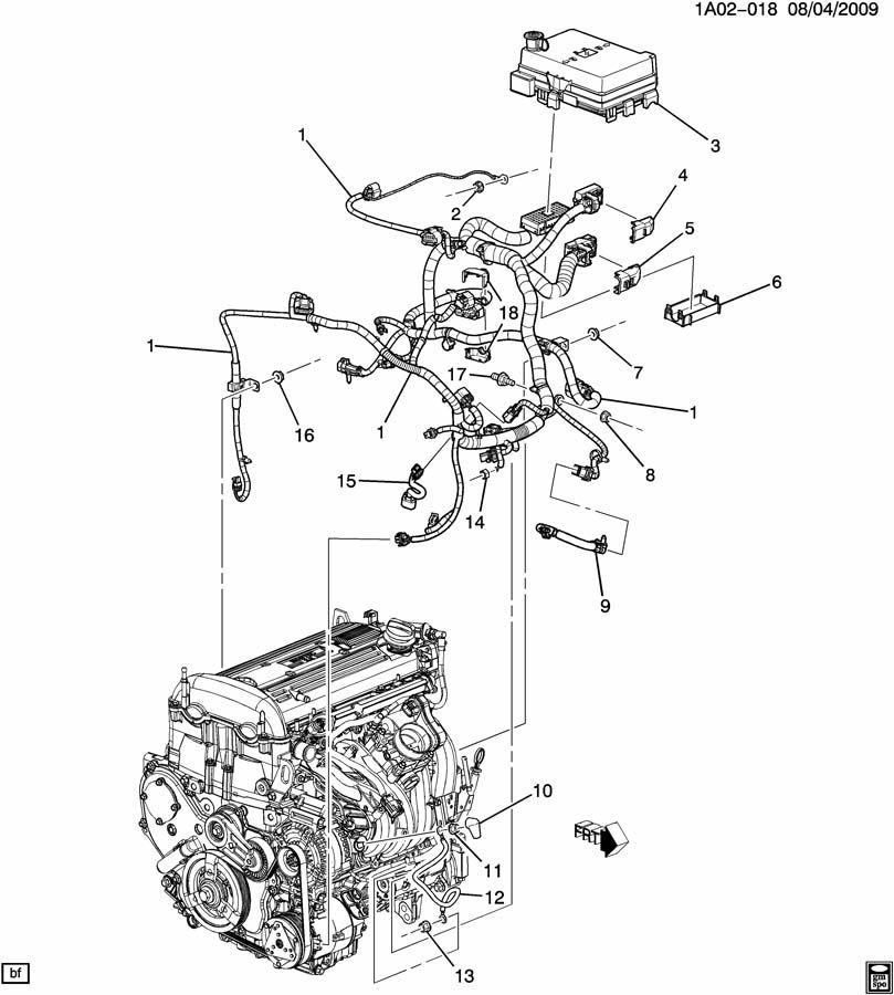 15917608  Engine Wiring Harness  Wire