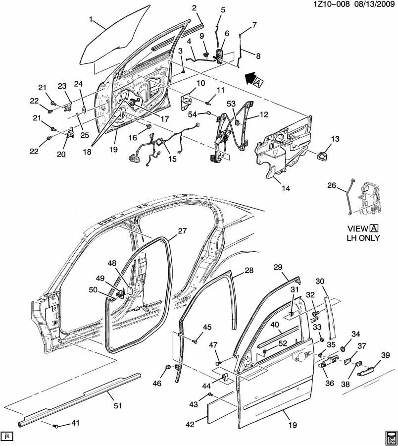 Chevrolet Malibu Weatherstrip  Door Weatherstrip