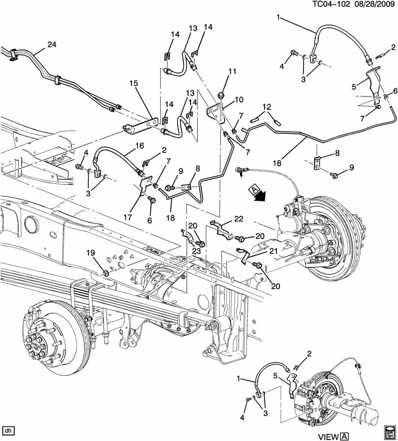2000 Chevy Silverado Brake Lines on subaru air conditioning diagram