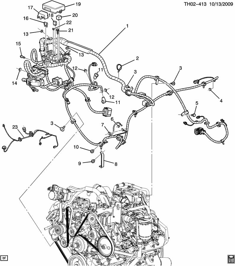 2003 duramax engine harness diagram