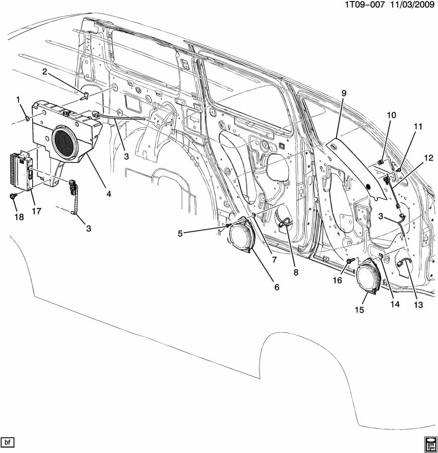 Cadillac Sts 2005 Battery Location besides Wiring Diagram 2007 Mercury Montego furthermore Headl  Wiring Harness Pontiac 2007 as well Pontiac 2006 G6 Fuse Box Diagram furthermore Honda Genuine Factory Parts. on 2007 cadillac escalade fuse box diagram
