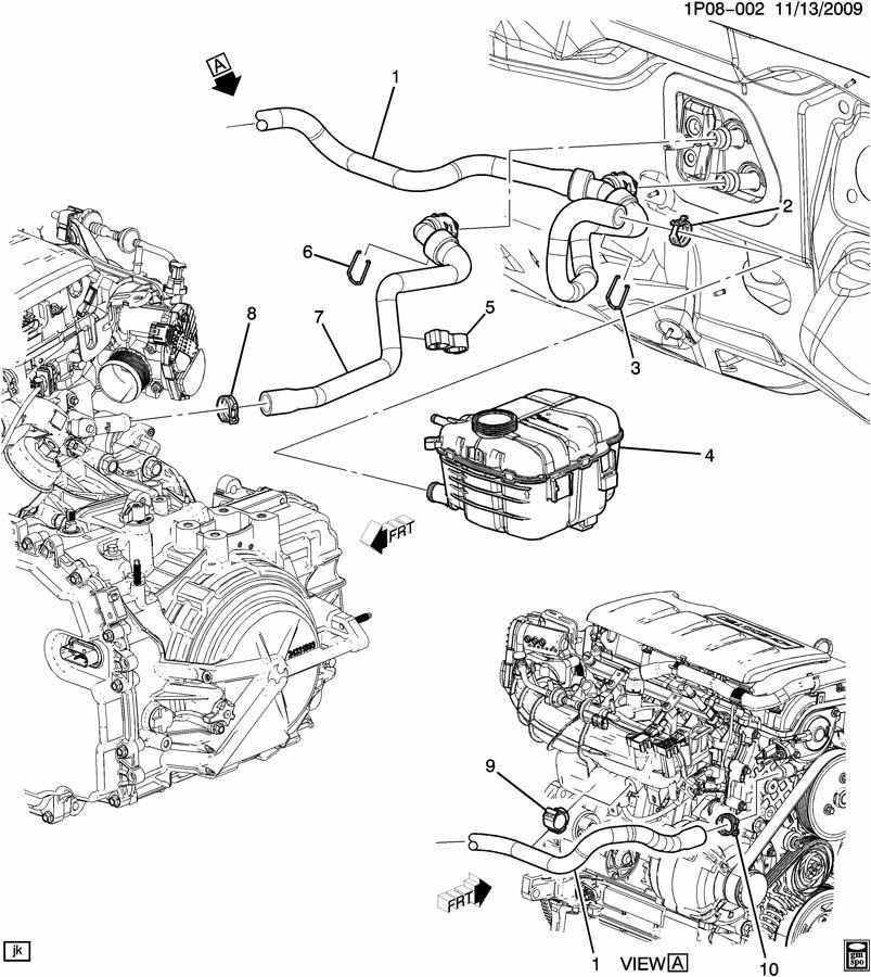 Chevrolet Cruze Hose Heater Hose Htr Otlt Wiring Diagram