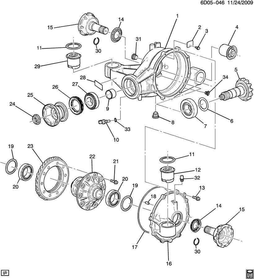 Cadillac Cts Rear Differential Pinion Seal Wiring Diagram