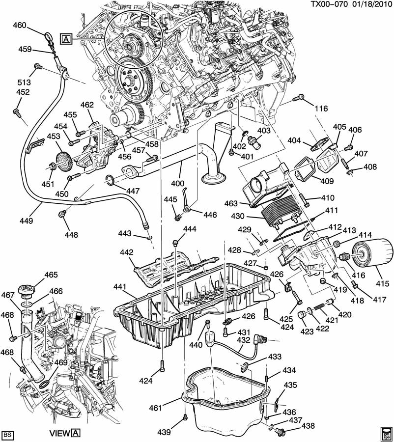 gmc front differential diagram