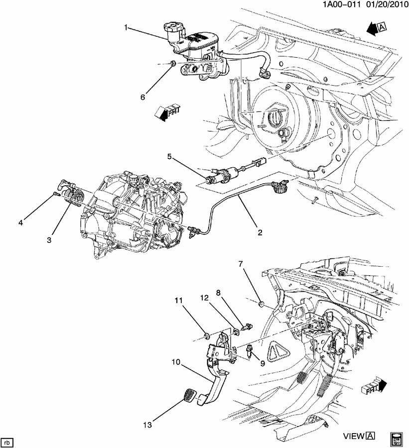 clutch pedal  u0026 cylinders