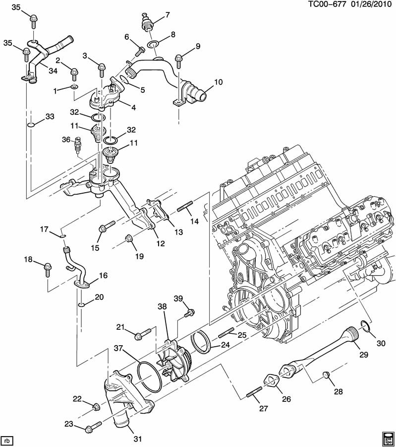 ls3 engine cooling system diagram