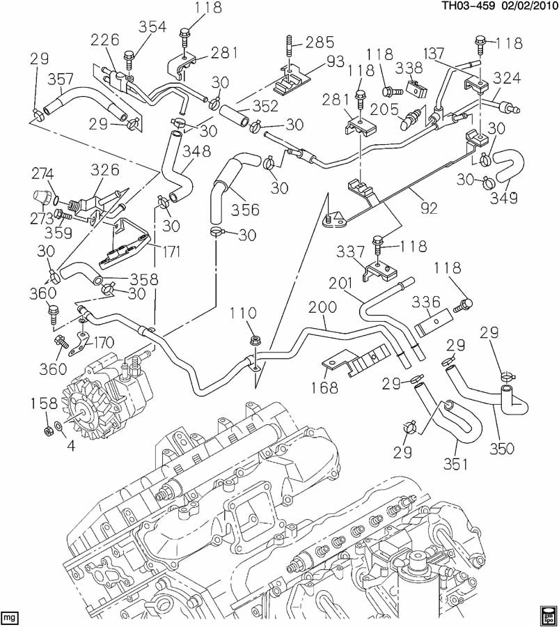 2004 duramax fuel system diagram
