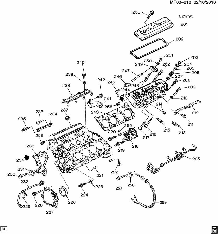 Chevy 5 0 Engine Diagram on 7 3 injection control pressure sensor