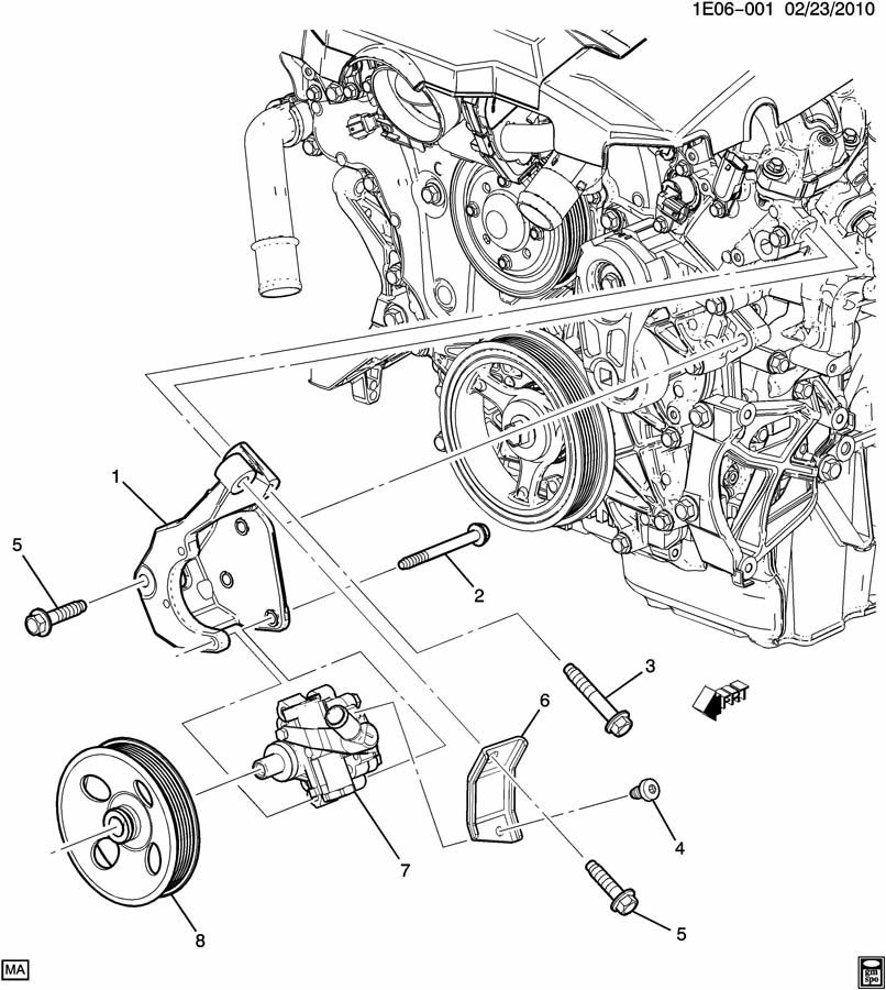 2010 Camaro V6 Engine Diagram