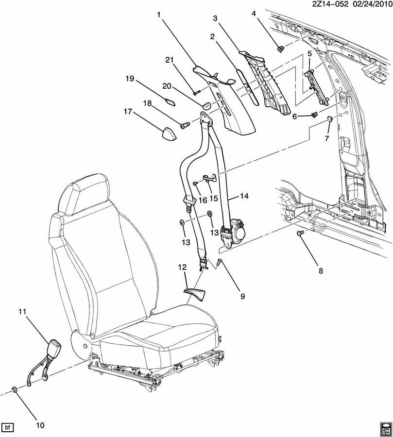 2006 Pontiac G6 Interior: Pontiac G6 Z69 SEAT BELTS/FRONT;