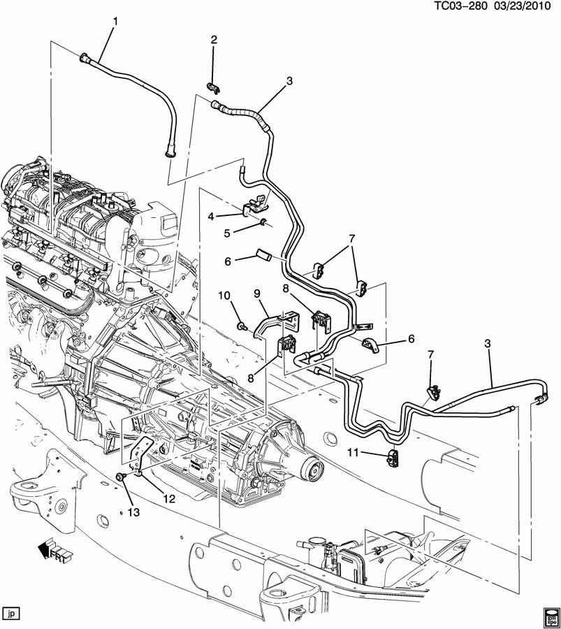 Chevrolet Silverado 2500 Hose  Fuel Line  Hose  Fuel Feed