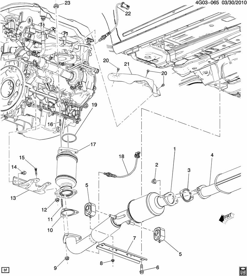 2001 ford escape crank sensor location