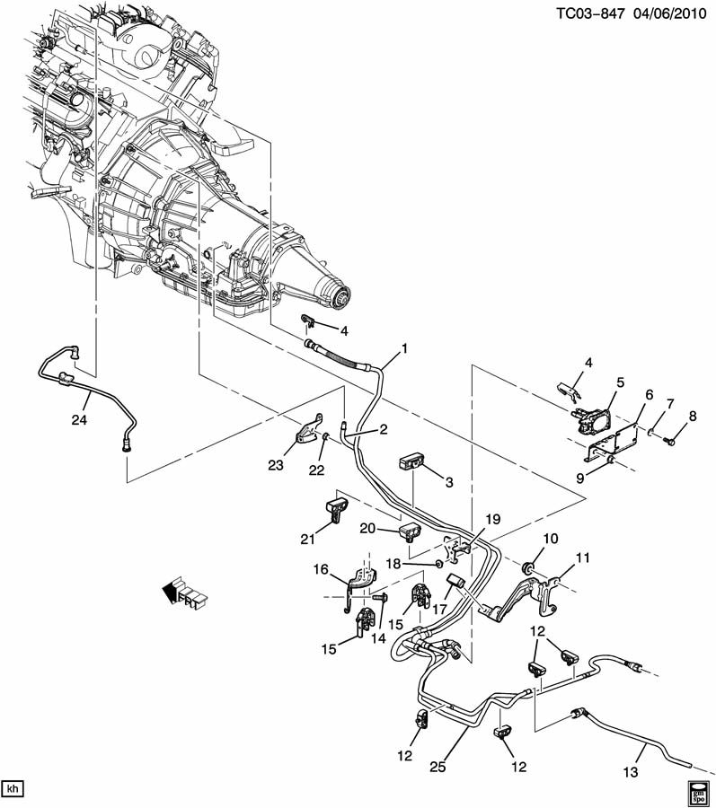 2007 cadillac escalade parts diagram  u2022 wiring diagram for free