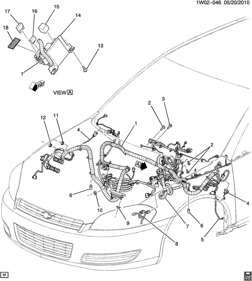 w19 wiring harness  instrument panel  u0026 fuse block 9c1 9c3