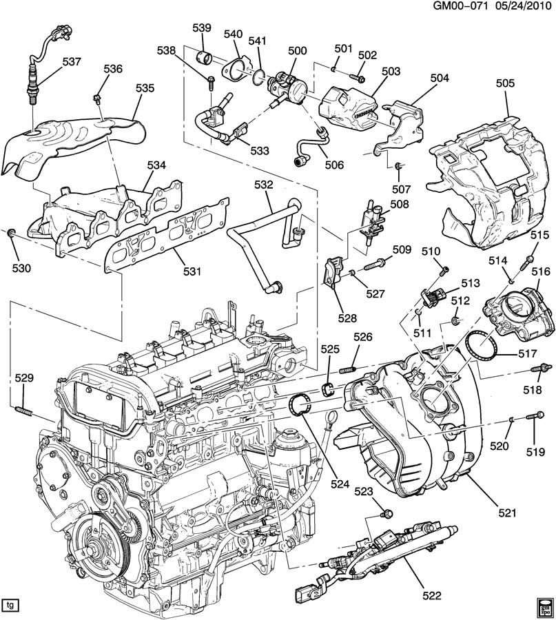 2005 Chevy Equinox Starter Wiring Diagram