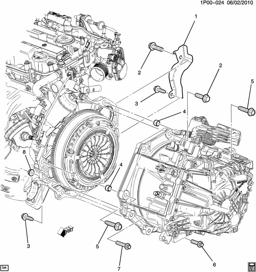 2014 Cruze Luv 1 4l 4 Cyl Engine Turbo Com