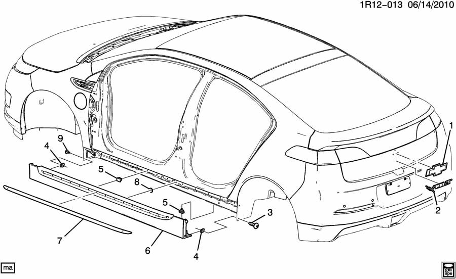 chevrolet colorado body parts diagram  chevrolet  free