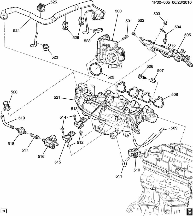 Which Item Number Is It In This Illustration: 2013 Chevy Cruze Lt Engine Diagram At Scrins.org