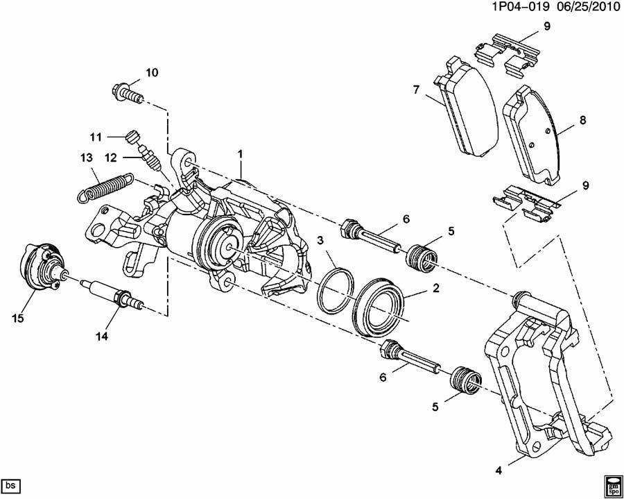 55 chevy parking brake diagram