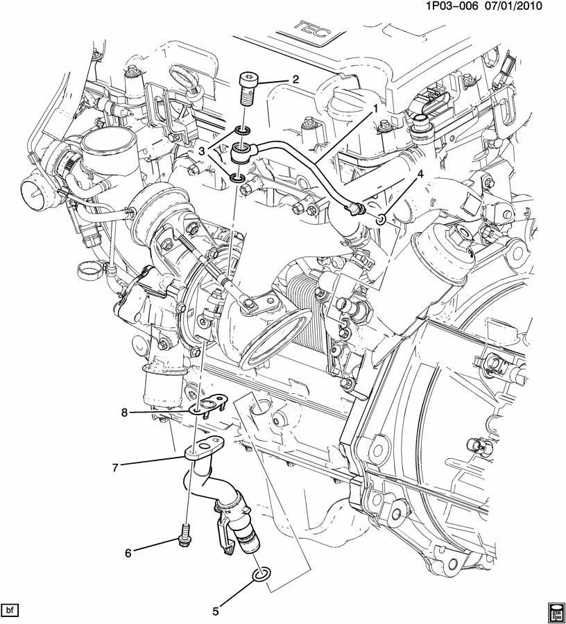 Chevrolet Cruze Seal Turbocharger Supercharger Air Vac Manual Guide