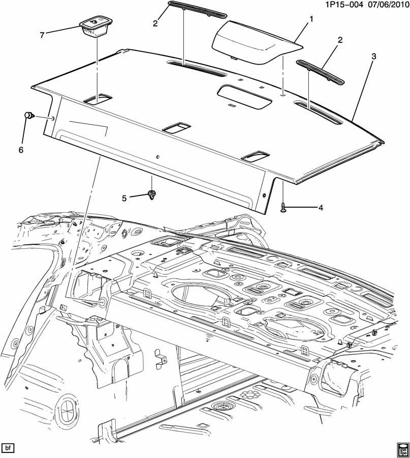 Third Brake Light Schaltplang Chevy Cruze