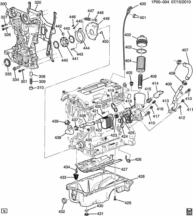 Chevrolet Cruze Engine Asm