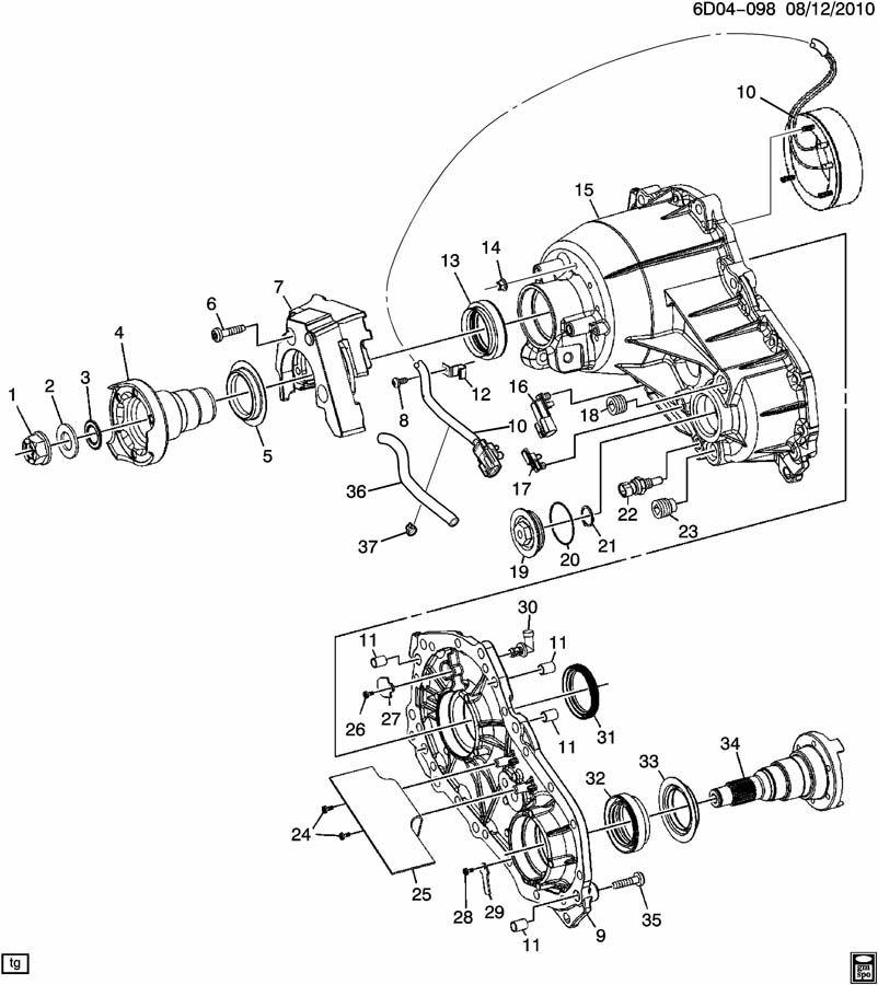 Chevrolet ASTRO Bearing. Transfer case. Idstmpd, allwheel ...  |All Wheel Drive Transfer Case Diagram