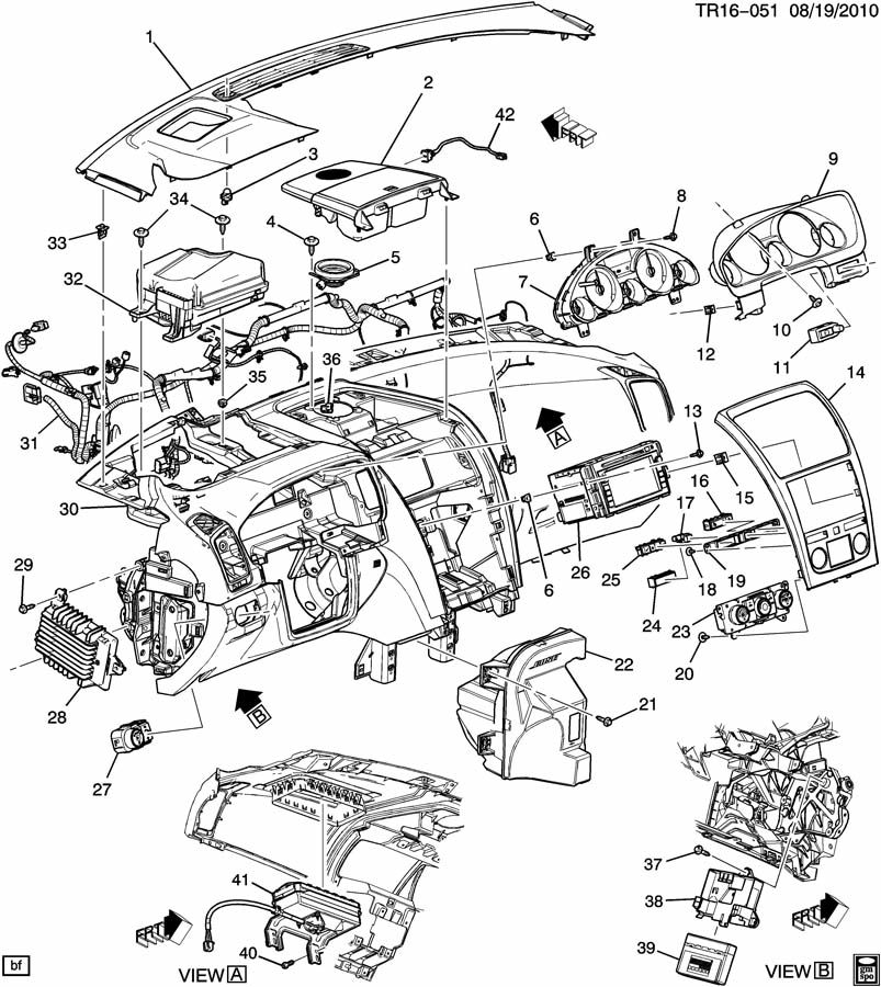 100819TR16 051 dic upgrade for an acadia sle page 36 gmc acadia forum 2007 saturn outlook radio wiring diagram at gsmx.co