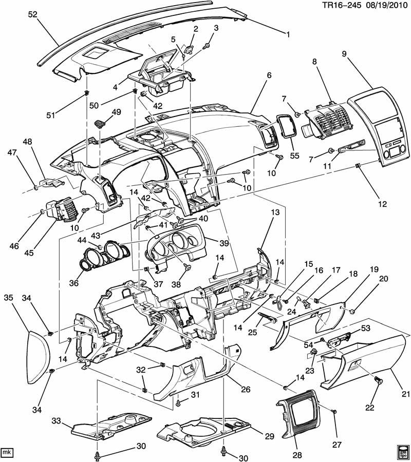 Gmc Acadia Diagram
