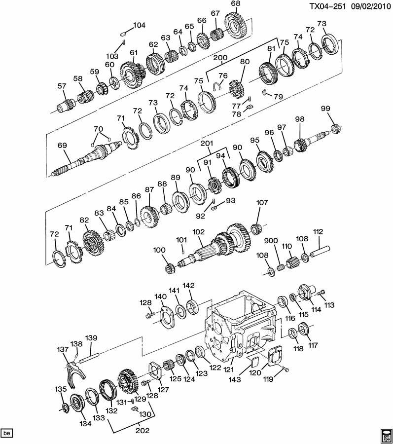 Chevrolet Silverado Synchronizer  Transmission Synchronizer  Synchronizer  1st  U0026 2nd Gr