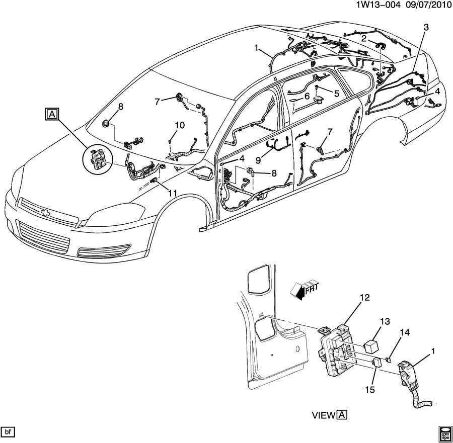 20821289 - Chevrolet Block Assembly  P Wiring