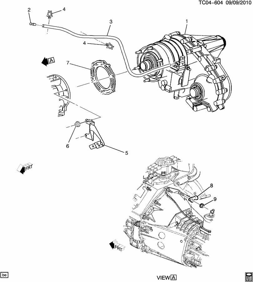 transfer case adapter gasket  u0026 vent hose