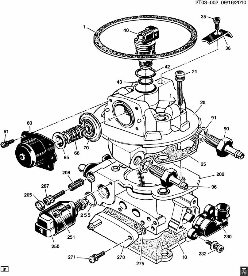 engine diagram pontiac lemans