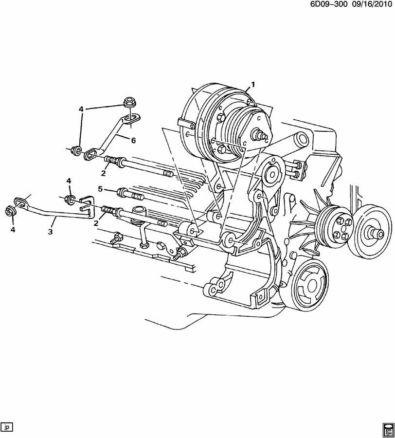 1991 cadillac deville a  c compressor mounting