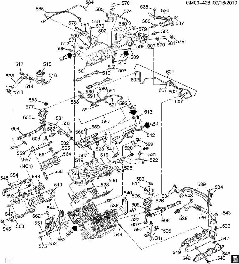 99 olds alero engine diagram