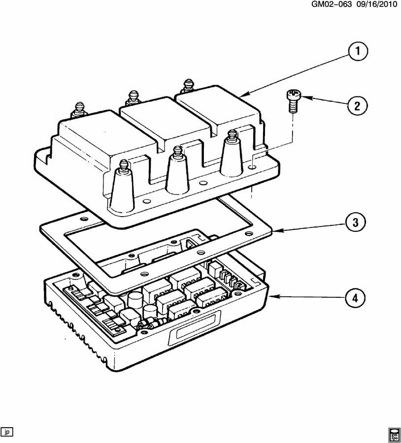 pontiac bonneville coil module ignition