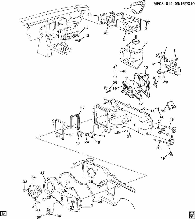 Chevrolet Camaro Bolt  Air Conditioning  A  C  Evaporator