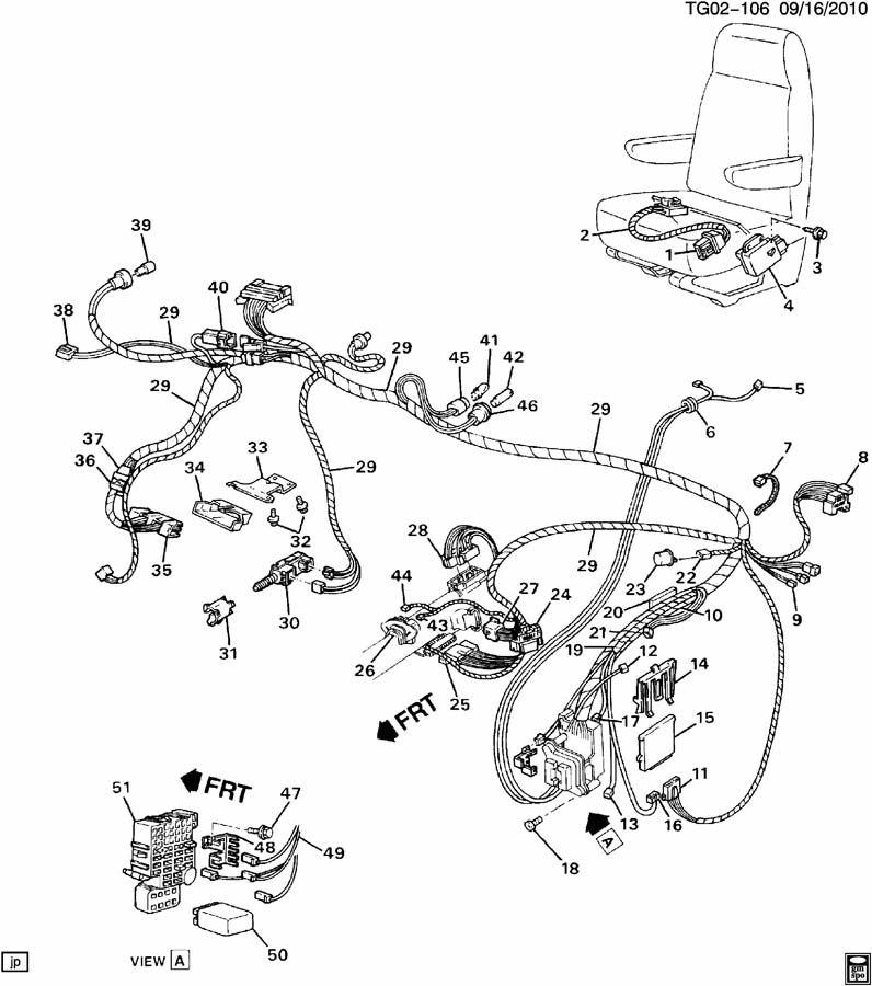 geo power seat wiring diagram