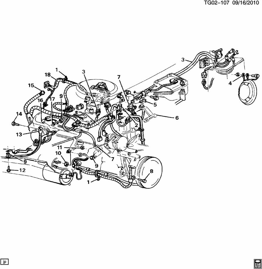 chevrolet c30 wiring harness  engine