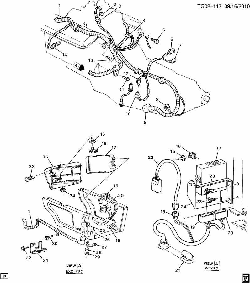 gmc van connector  f  injn pump delivery valve wiring