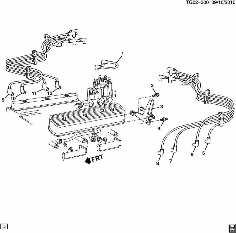 spark plug wiring