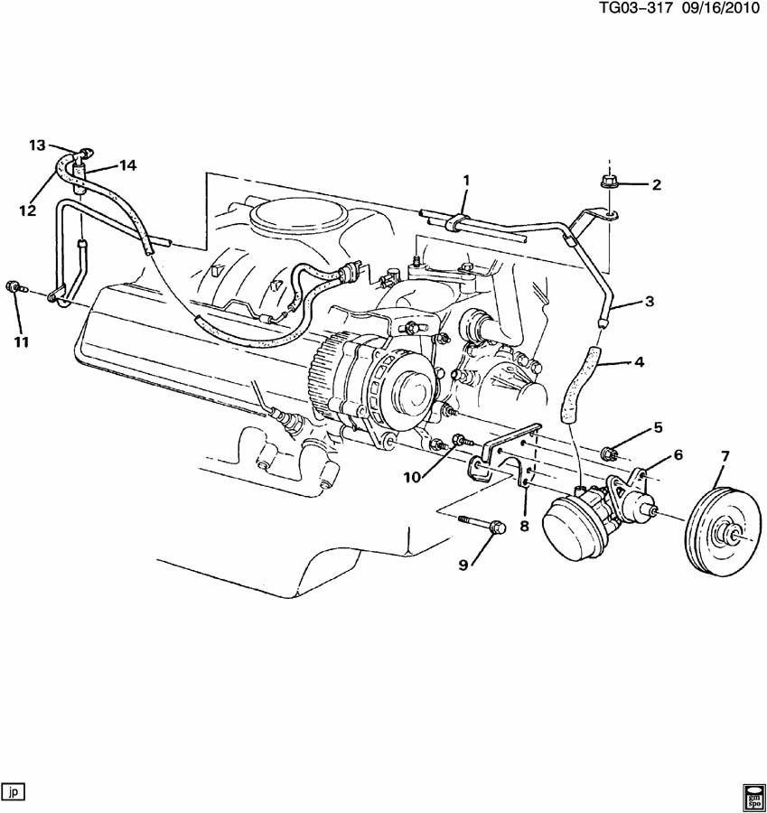 22034995 - GMC Pump. Engine Vacuum Pump