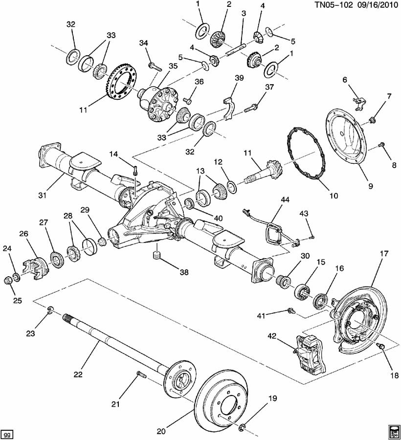 gmc rear differential diagram  gmc  free engine image for