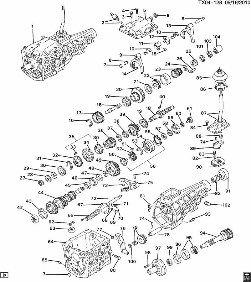 Ford 5 Speed Transmission Parts Manual Guide