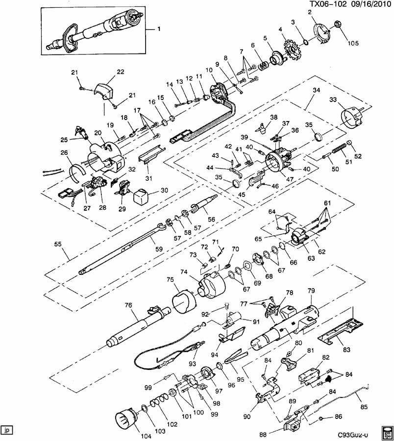 gm 2 4l gmc engine diagram