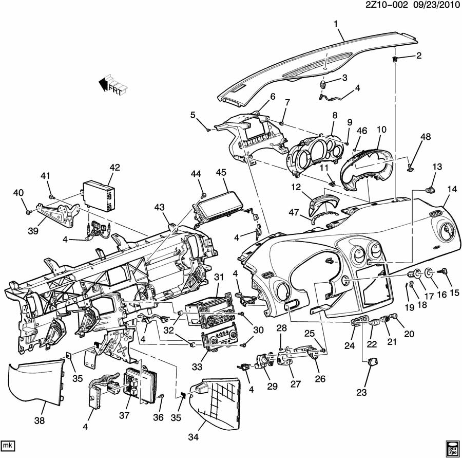 Transmission Wiring Diagram For A 2006 Chevy Cobalt 2 55 2009 Schematic 1009232z10 002 Harness The At