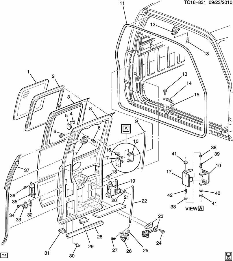 2008 Chevy Truck Door Lock Diagram  2008 Chevrolet