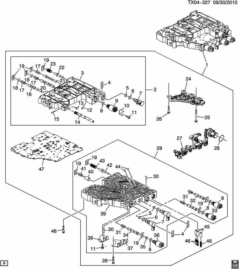 4r100 Transmission Valve Body Diagram Wiring Diagram Full